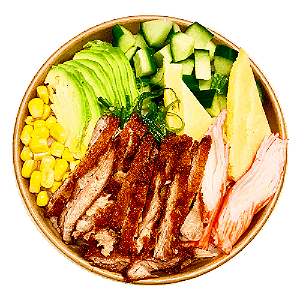 Foto Poké Bowl Chicken